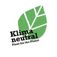 Logo der Kampagne 'Klima neutral' von Plant-for-the-Planet